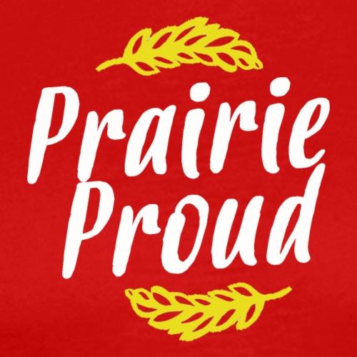 Prairie Proud White and Gold - Men's Premium T-Shirt