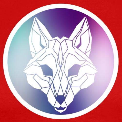 Galaxy Wolf Lineart - Men's Premium T-Shirt