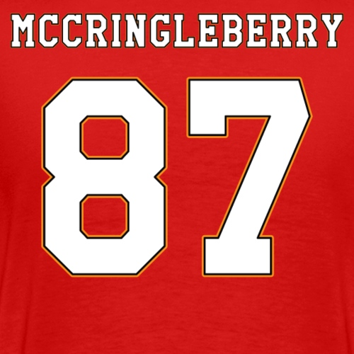 McCringleberry Jersey - Men's Premium T-Shirt