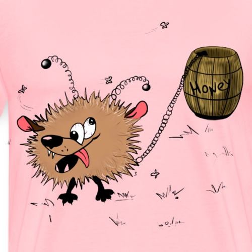Blinkypaws: Awoof and Honey - Men's Premium T-Shirt