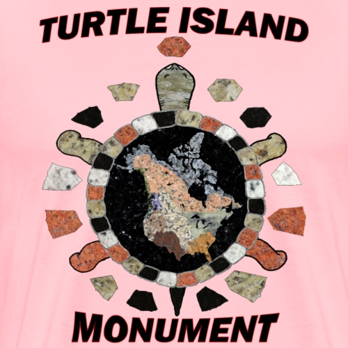 Turtle Island Monument - Men's Premium T-Shirt