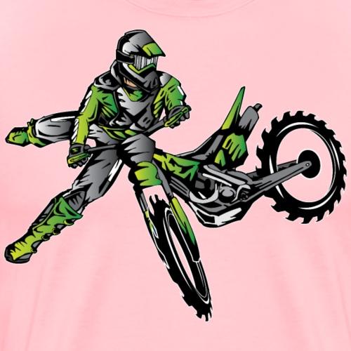 Kawasaki Freestyle Dirt Bike - Men's Premium T-Shirt