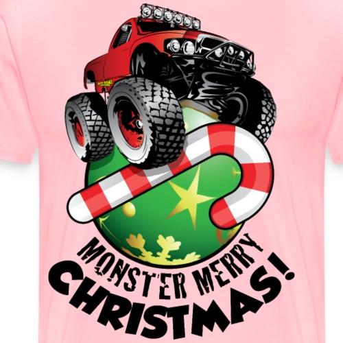 Monster Merry Christmas - Men's Premium T-Shirt