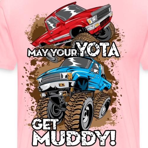 Toyota Trucks Get Muddy - Men's Premium T-Shirt