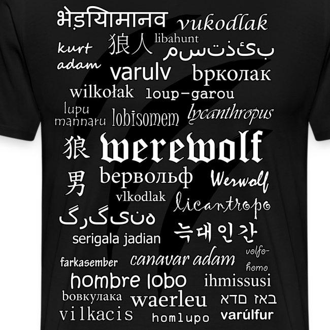 Werewolf in 33 Languages