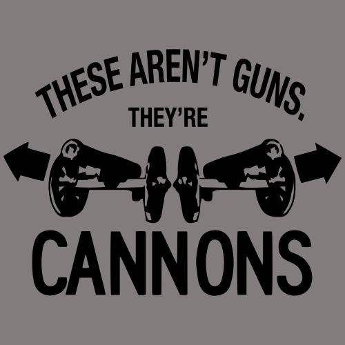 These Aren t Guns - Men's Premium T-Shirt