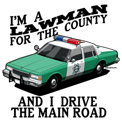SD County Sheriff - Men's Premium T-Shirt