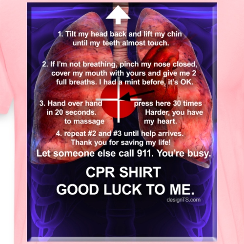 CPR SHIRT 3 - Men's Premium T-Shirt