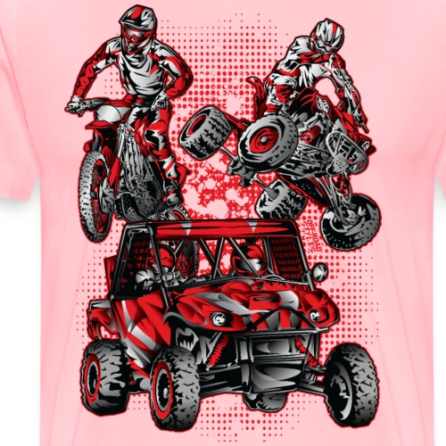 Extreme Stunts Motorsports - Men's Premium T-Shirt