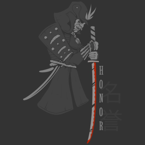 Samurai (Digital Print) - Men's Premium T-Shirt