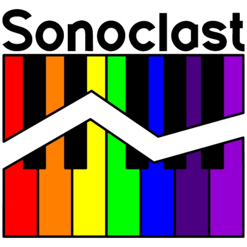 Sonoclast Rainbow Keys (for light backgrounds) - Men's Premium T-Shirt