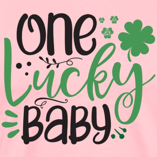 one Lucky baby - Men's Premium T-Shirt
