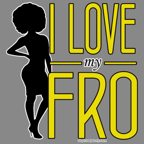 I Love My Fro - Men's Premium T-Shirt