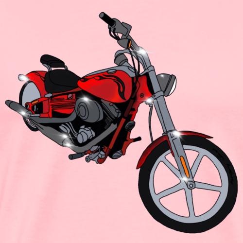 Motorcycle red - Men's Premium T-Shirt