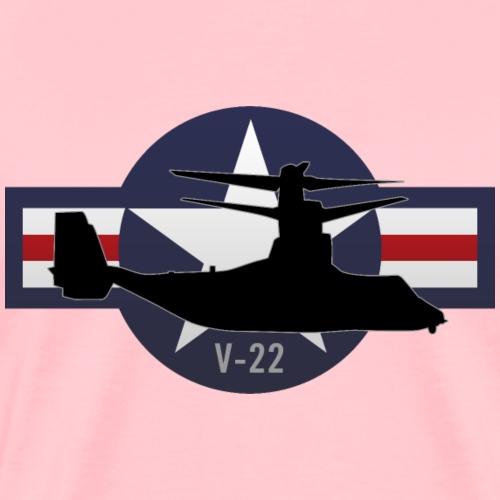 V-22 Osprey Military Airplane - Men's Premium T-Shirt