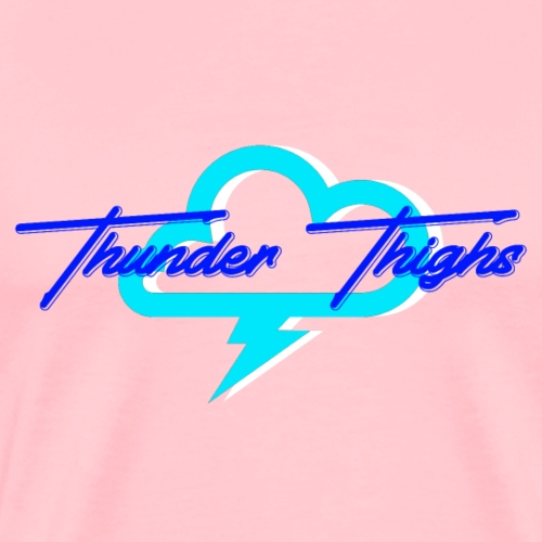 thunder thighs - Men's Premium T-Shirt