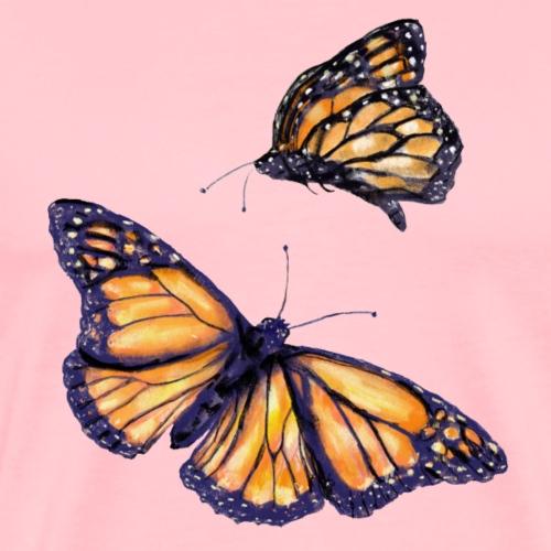 2 butterflies - Men's Premium T-Shirt