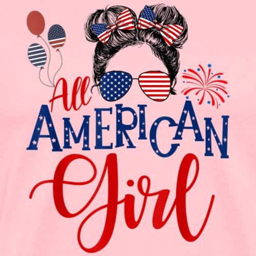 All American Girl - Men's Premium T-Shirt