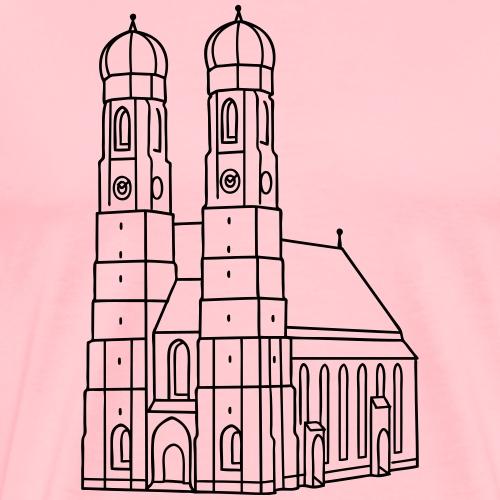 Munich Frauenkirche - Men's Premium T-Shirt