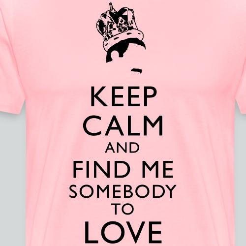Freddie Keep Calm - Men's Premium T-Shirt