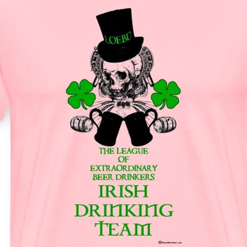 The LOEBD Irish Drinking Team - Men's Premium T-Shirt