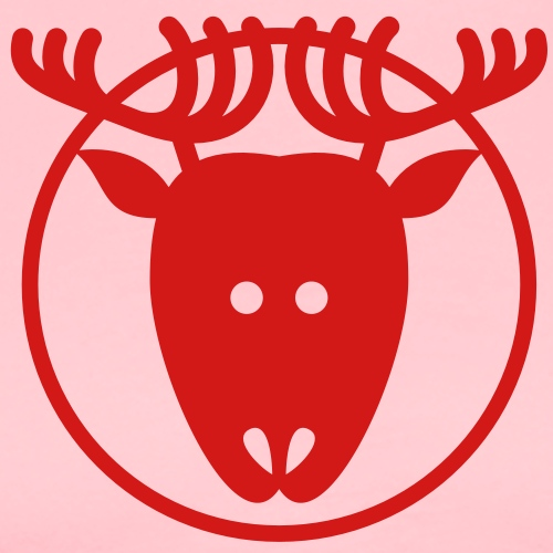 Christmas Reindeer Avatar - Men's Premium T-Shirt