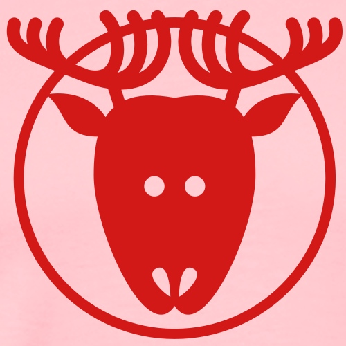 Christmas Reindeer Avatar - Men's Premium T-Shirt