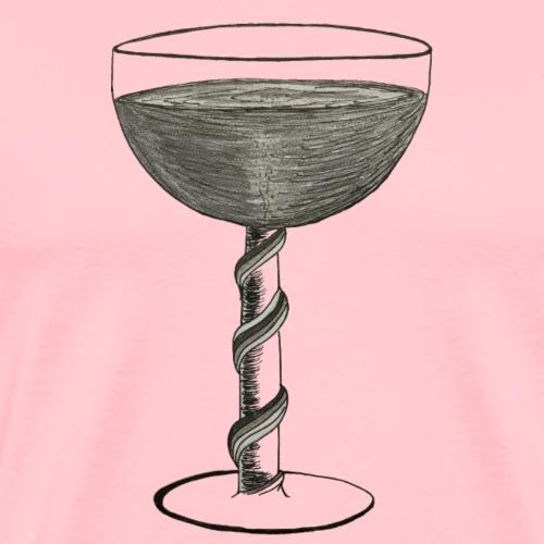 Wine glass - Men's Premium T-Shirt