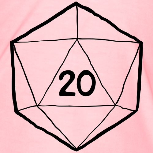 Fantasy Dice d20 - Men's Premium T-Shirt