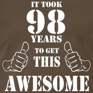 98th Birthday Get Awesome T Shirt Made in 1919 - Men's Premium T-Shirt
