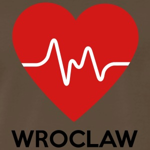 Heart Wroclaw - Men's Premium T-Shirt