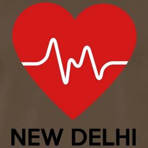 Heart New Delhi - Men's Premium T-Shirt
