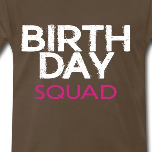 BIRTHDAYSQUADGIRL - Men's Premium T-Shirt