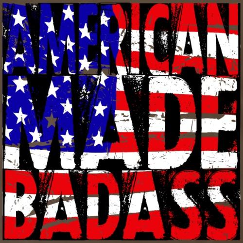 America Made Badass - Men's Premium T-Shirt