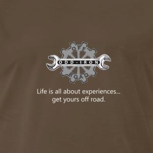 Experiences Odd Iron Style - Men's Premium T-Shirt
