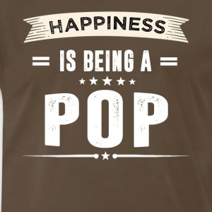 Happiness Is Being a POP - Men's Premium T-Shirt
