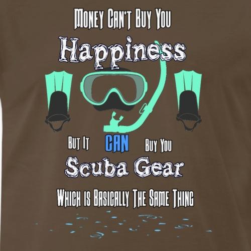 Money Can Buy You Scuba Gear - Men's Premium T-Shirt