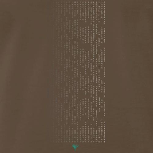 Tshirt 01 F2V PositiveEnergie v2 - Men's Premium T-Shirt