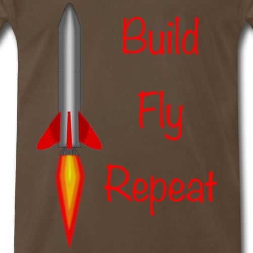 Build Fly Repeat - Men's Premium T-Shirt