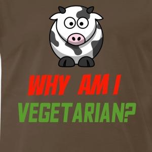 Vegetarian Cow - Men's Premium T-Shirt