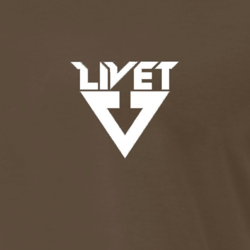 JUSTLIVET LOGO - Men's Premium T-Shirt