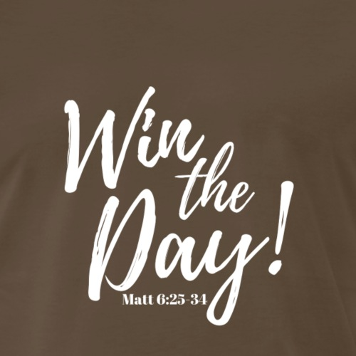 Win the Day! (white) - Men's Premium T-Shirt