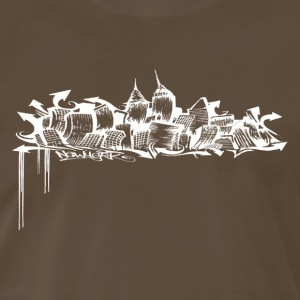 GRAFFITI SKYLINE - Men's Premium T-Shirt