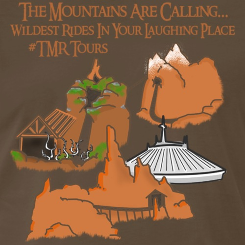 Mountains Are Calling - TMR - Men's Premium T-Shirt