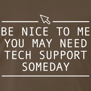 FUNNY TECH SUPPORT T Shirt - Men's Premium T-Shirt