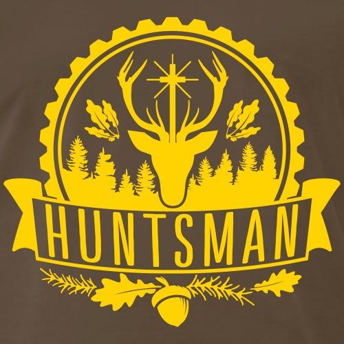 Hunter Huntsman Woods Hunting Shooting Wild Forest - Men's Premium T-Shirt