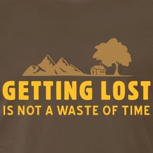 getting lost - Men's Premium T-Shirt
