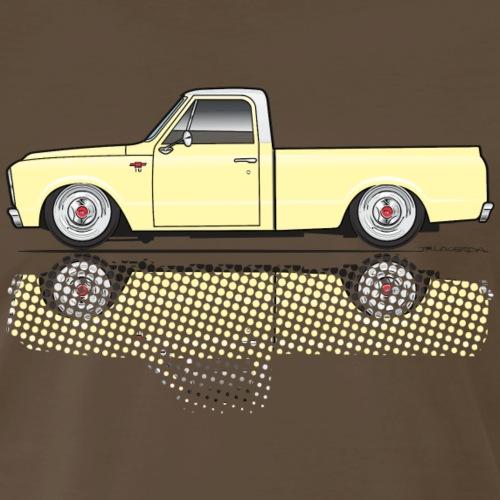 67 68 short Yellow - Men's Premium T-Shirt