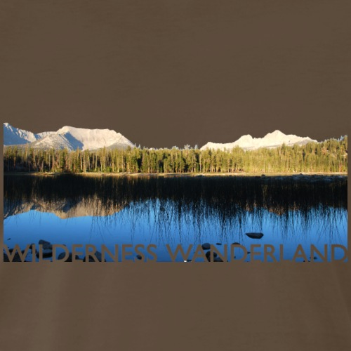 Moraine Lake Wilderness - Men's Premium T-Shirt