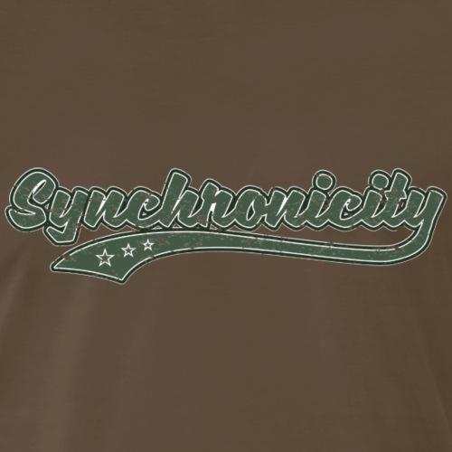 Synchronicity (Retro Color) - Men's Premium T-Shirt